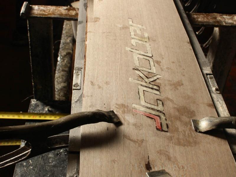 costruzione sci artigianali